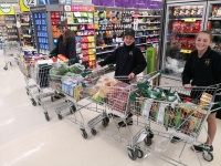 Think we have enough food???